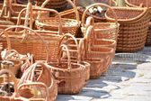 Wicker baskets — Stock Photo