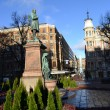 Statue in the center of Helsinki — Foto Stock