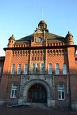 Altes Haus in helsinki — Stockfoto