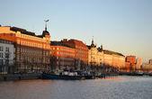Embankment in Helsinki, Finland — Stockfoto