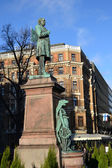 Staty i helsingfors centrum — Stockfoto