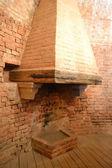 中世暖炉 — ストック写真