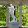 Statue of the Greek god in Pavlovsk — Stock Photo