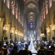 Notre Dame Cathedral inside — Stock Photo #19494237