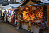 Christmas Fair in Paris — Stock Photo