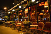 Street cafe in Paris — Foto de Stock