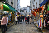 Ulice na montmartru — Stock fotografie