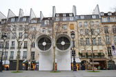 Ventilation shafts of Centre Georges Pompidou. — Stock Photo