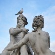 Statue on the streets of Paris — Stock Photo #21672225