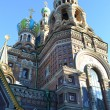 Church of the Savior on Spilled Blood - 图库照片