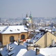 Prague at winter — Foto de Stock