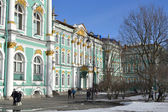 The Hermitage at winter — Stock Photo