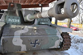 German self-propelled gun StuG III — Foto de Stock