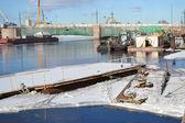 View of the Neva River — Stock Photo
