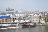 View of Prague city — Foto de Stock