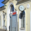 Railway station of Pavlovsk - Stock Photo