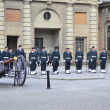 Sweden Royal guard - Stock Photo