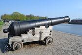 Russian memorial cannon — Foto de Stock