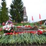 War memorial on Sinyavino Heights — Stock Photo #25850073