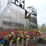 War memorial on Sinyavino Heights — Stock Photo #25850107