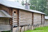 Antika träkonstruktion — Stockfoto