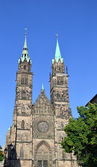 St Lawrence Church, Nuremberg. — Stock Photo