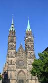 St lawrence iglesia, nuremberg. — Foto de Stock