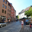 Street in Nuremberg — Stock Photo