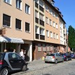 Street in Nuremberg — Stock Photo