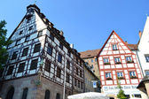 Old houses in Nuremberg — Stock Photo