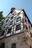 House in center of Nuremberg — Stock Photo
