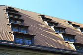 The roof of building in Nuremberg — Stock Photo