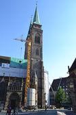 St. sebaldus kyrka, nürnberg. — Stockfoto