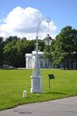 Lantern on the island Elagin — Stock Photo