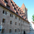 Stok fotoğraf: House in center of Nuremberg