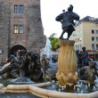 Fountain in Nuremberg — Stock Photo