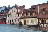 Street in center of Nuremberg — Stock Photo