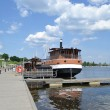 Harbor of Lappeenranta — Stock Photo