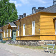 Old building in Lappeenranta, Finland — Stock Photo