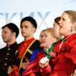 Statement by the Cossack Choir — Stock Photo