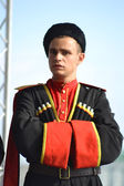 Portrait of a Cossack — Stock Photo