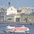 Stock Photo: Ship on River Neva
