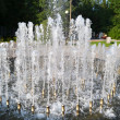 Fountain in city park — Stock Photo