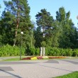 Stock Photo: Park in Zelenogorsk