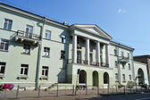 Residential building in the Stalin-style — Stock Photo