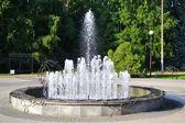 Fontanna w parku — Zdjęcie stockowe