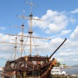Stock Photo: Big sailing-ship in St.Petersburg