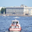 View of the River Neva in St Petersburg — Stock Photo