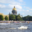 View of the River Neva in St Petersburg — Stock Photo #30408607