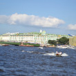 View of Palace Bridge in St.Petersburg — Stock Photo